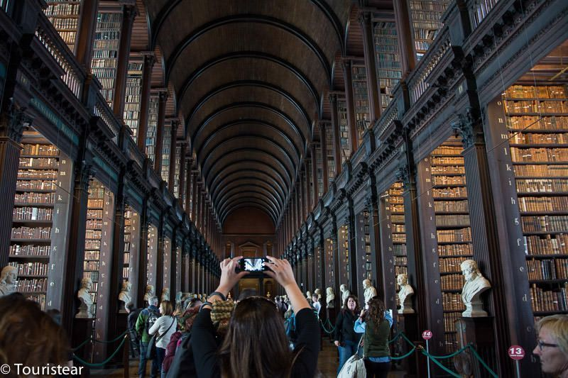 que ver en dublin, long room