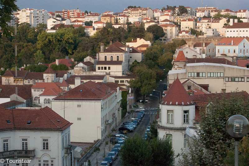 Coimbra vistas desde Universidad