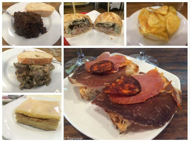 Collage tapas por leon