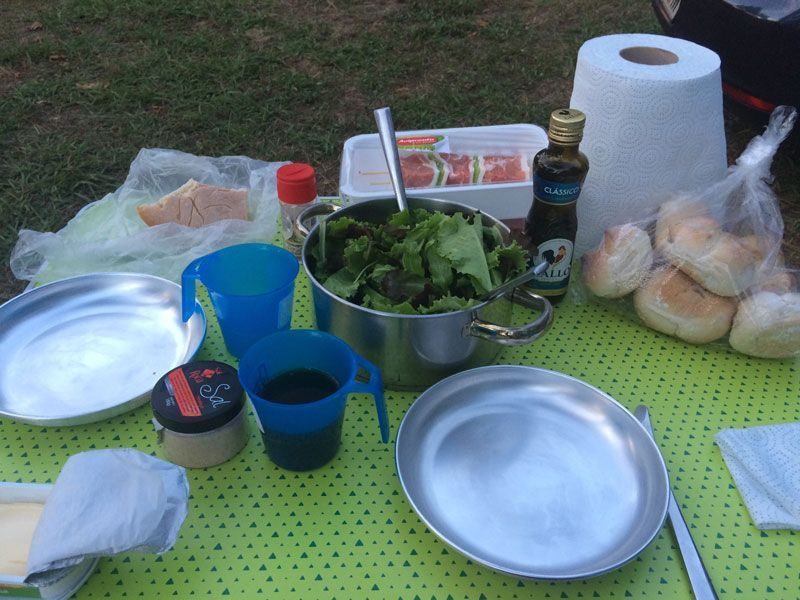 comer de camping