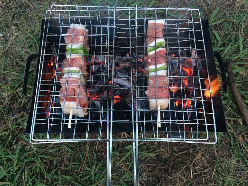 Qué comer cuando te vas de camping?
