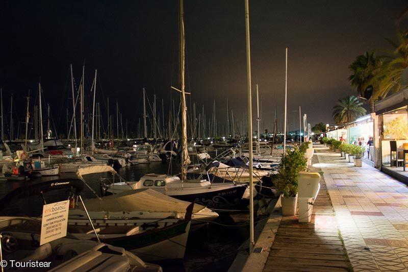 nocturna sitges puerto aiguadolç