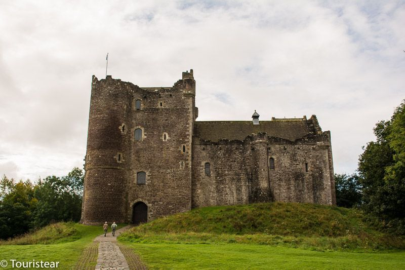 castle-leoch Outlander Forastera, castillos de escocia