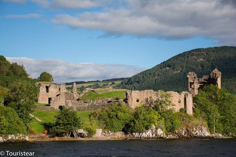urquhart castle, lago ness, castillos de escocia