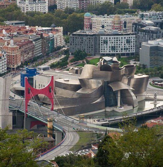Bilbao, vistas desde Artxanda