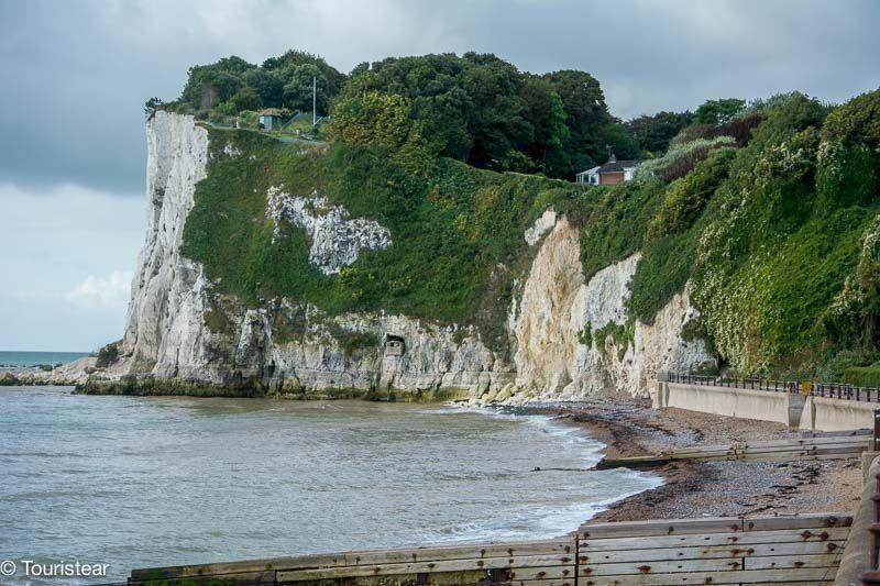 White cliff, Dover, inglaterra