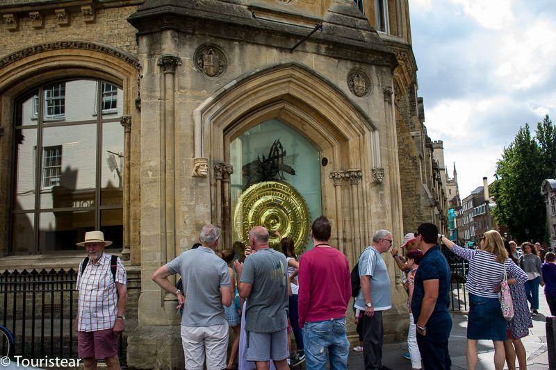 reloj chronophage Cambridge