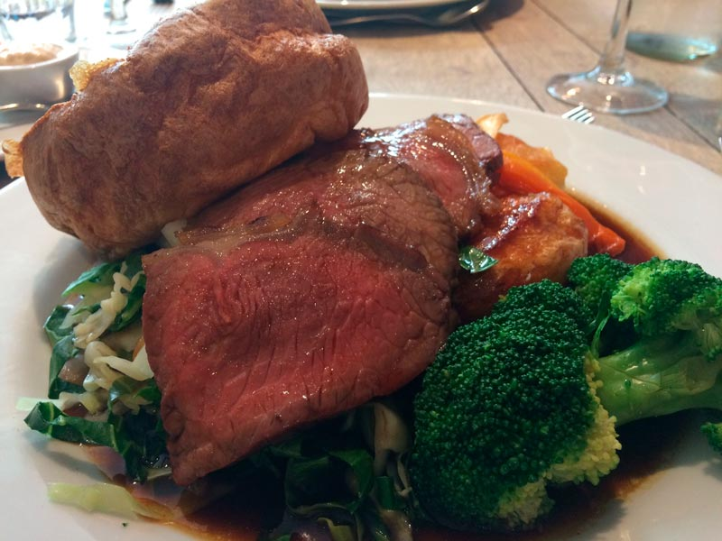 Deesons restaurant, sunday roast