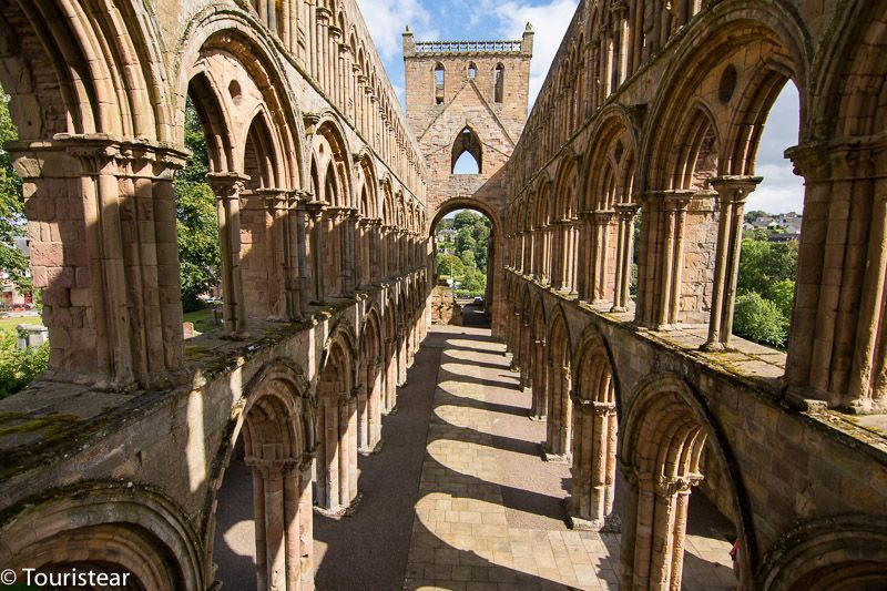 newcastle - jedburg abbey