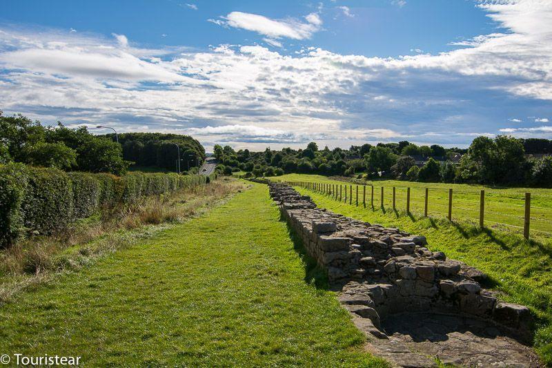 Newcastle - muro de adriano