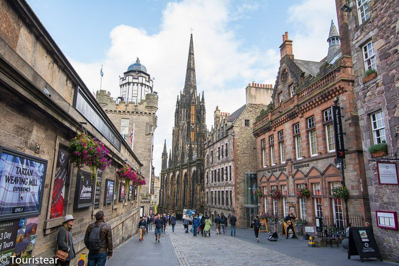 edimburgo, royal mile, escocia
