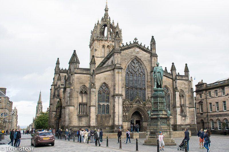 St. Gilles Edimburgo escocia