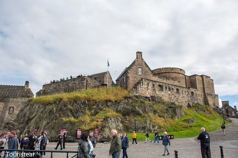 24 hours in Edinburgh, visit the castle.