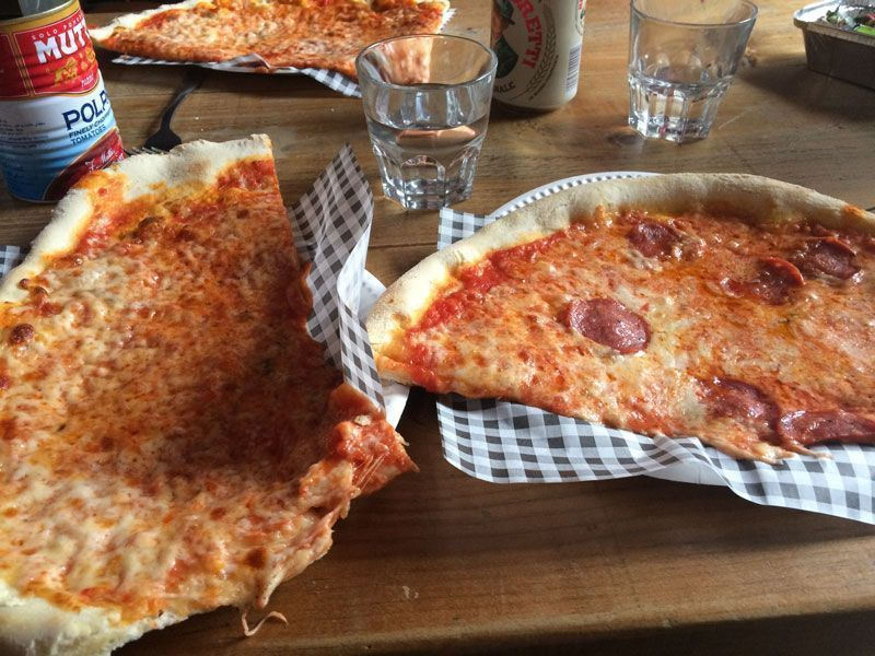 24 horas en Edimburgo - Pizza en Civerinos