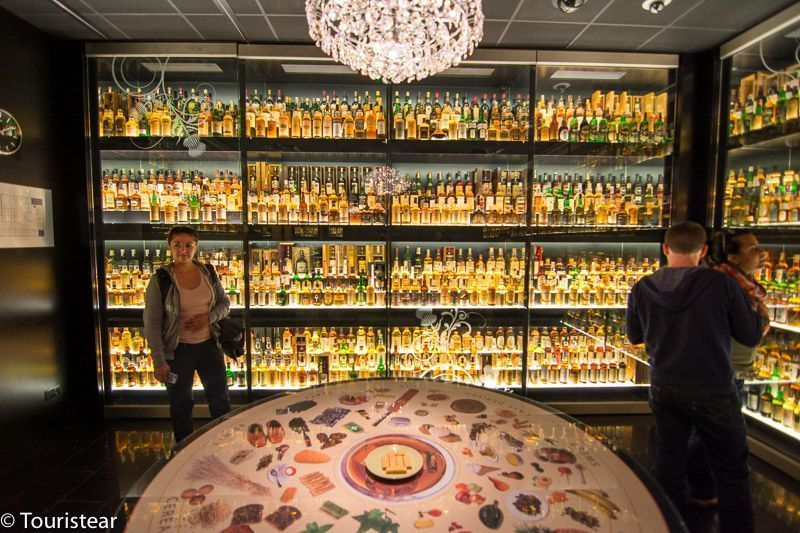 24 horas en Edimburgo The Scotch Whisky Experience