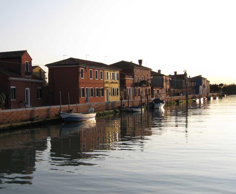 mazzorbo canale Venecia