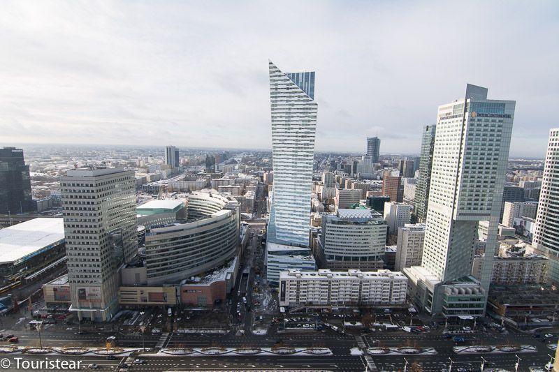 Vistas panoramicas de Varsovia. Polonia