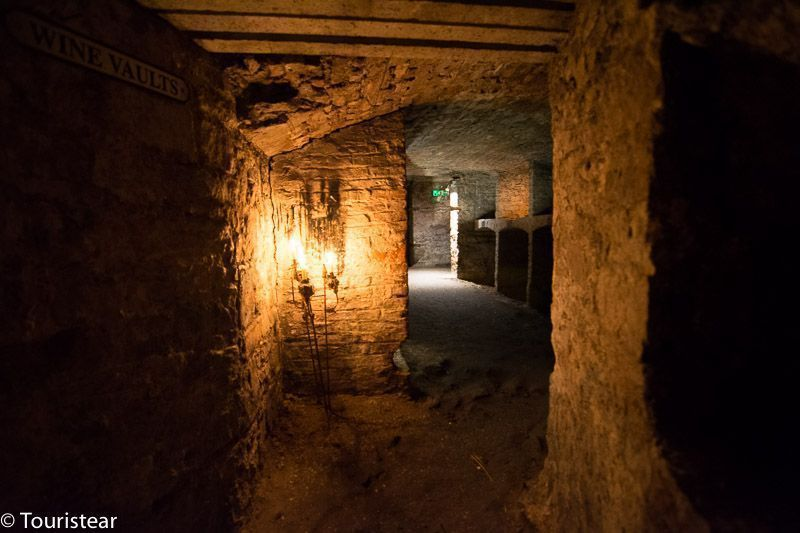 Vaults under south bridge, Edinburgh