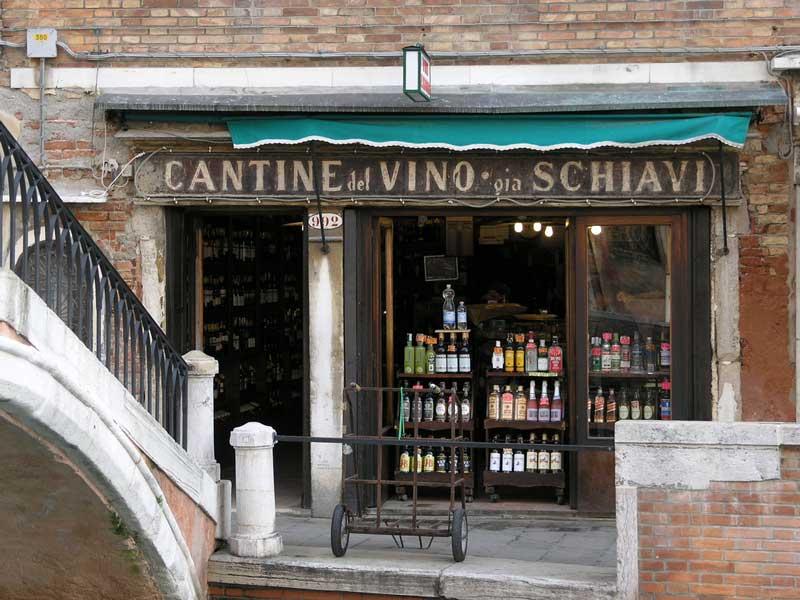 cantina de vino venecia