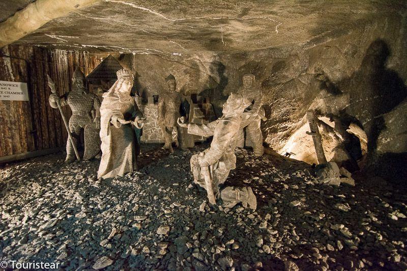 Minas de sal de Wieliczka. polonia
