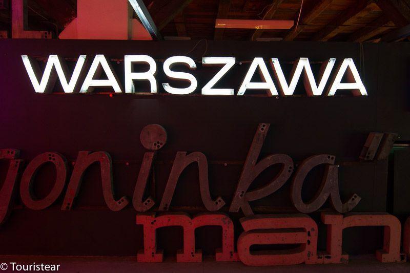 Museo de los neones de Varsovia, Polonia