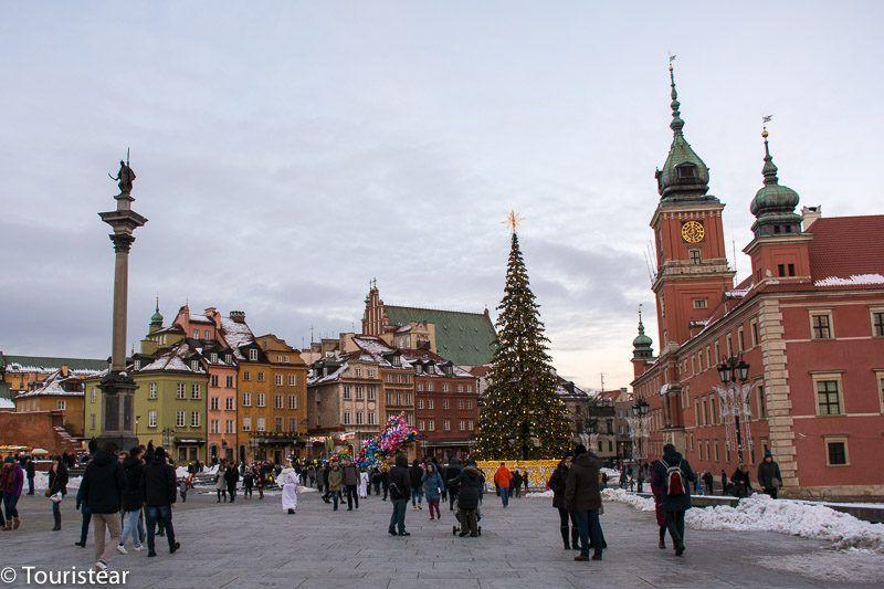 plaza mayor de Varsovia, Polonia