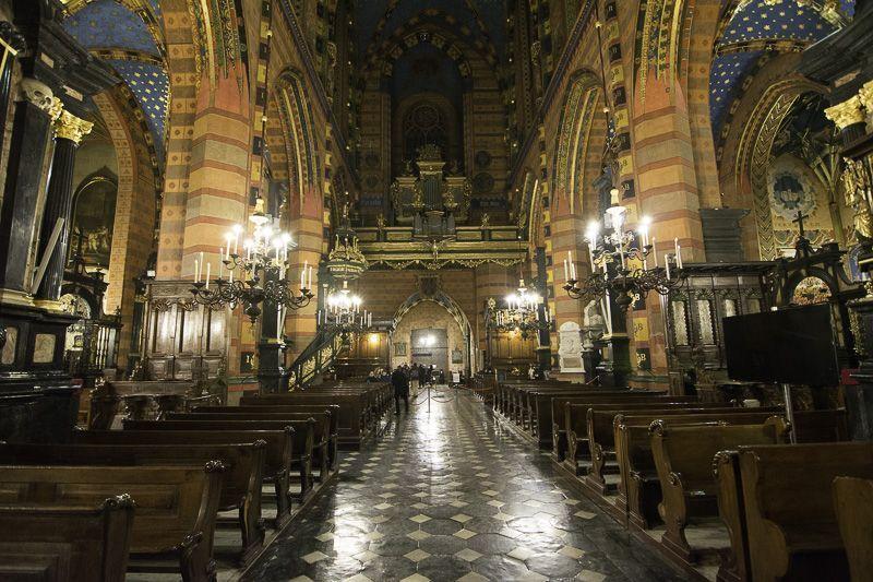 Cracovia Basilica Santa Maria 1
