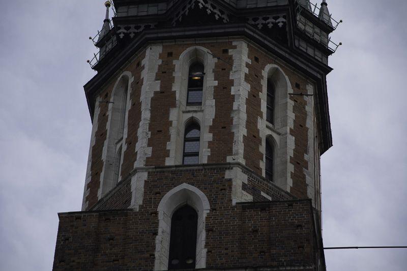 Cracovia Detalle Torre Basilica