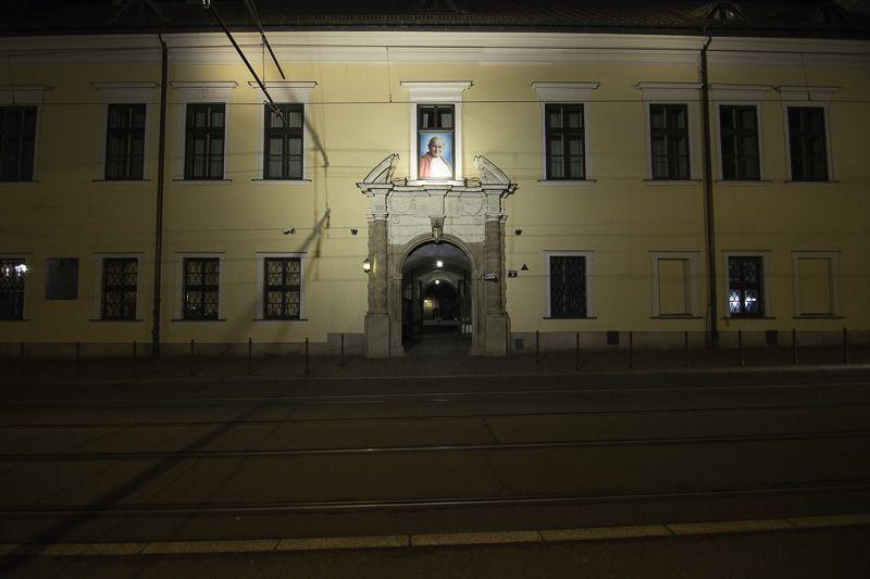 Cracovia Ventana Papa