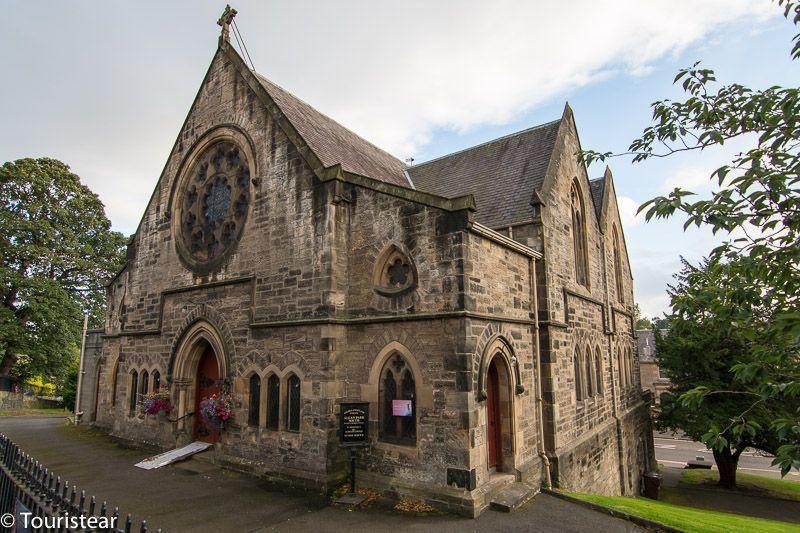 Iglesia en centro histórico de Stirling. Escocia