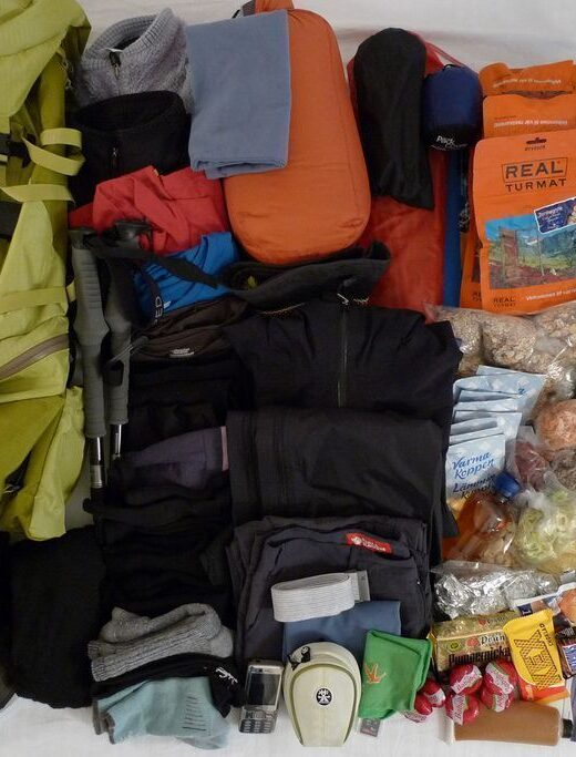 que me llevo en la mochila para un viaje de 2 meses
