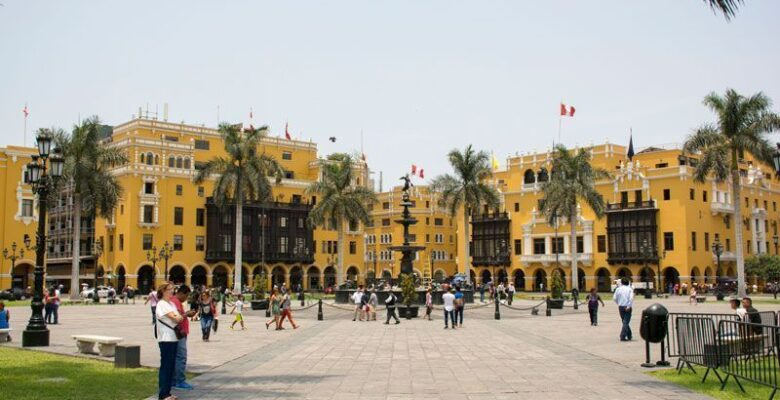Impressions to the trip to Peru, Lima