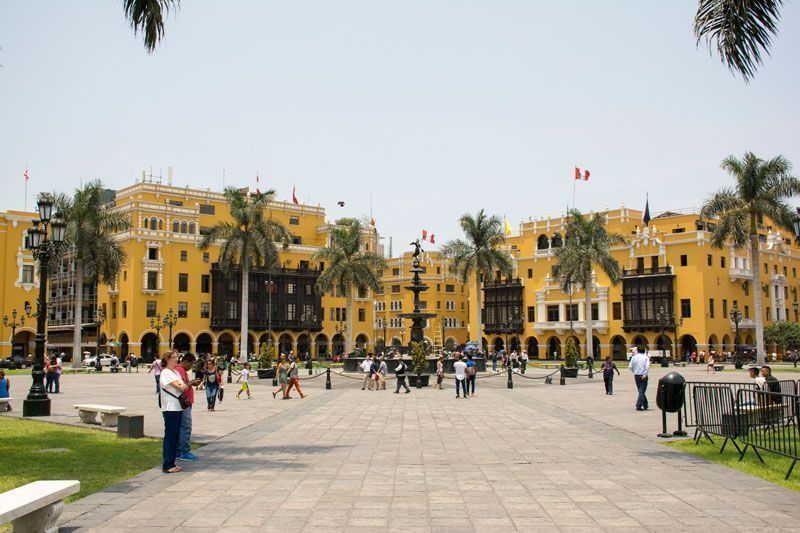 Impressions to the trip to Peru, Lima