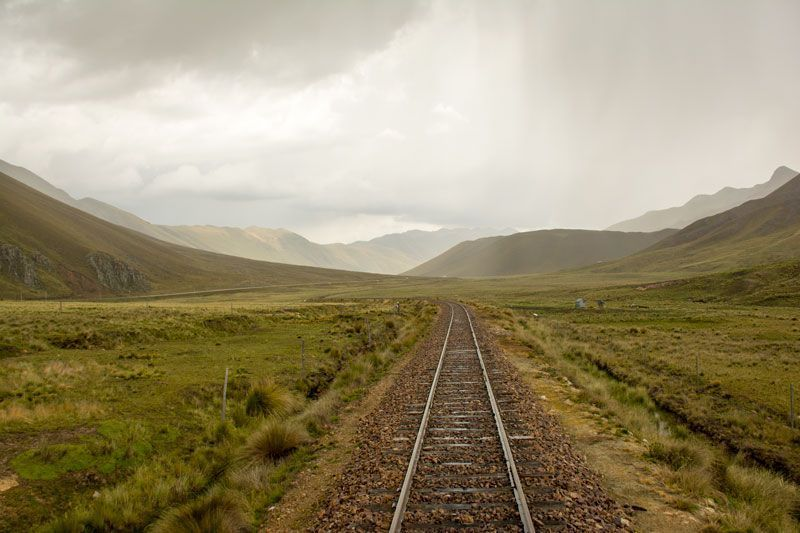 Tren from Cuzco to Puno