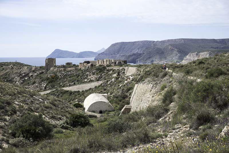 Cargadero de Aguamarga. Cabo de Gata