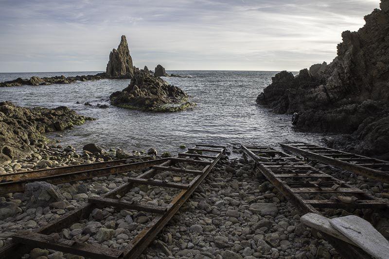 Embarcadero de las Sirenas. Cabo de Gata