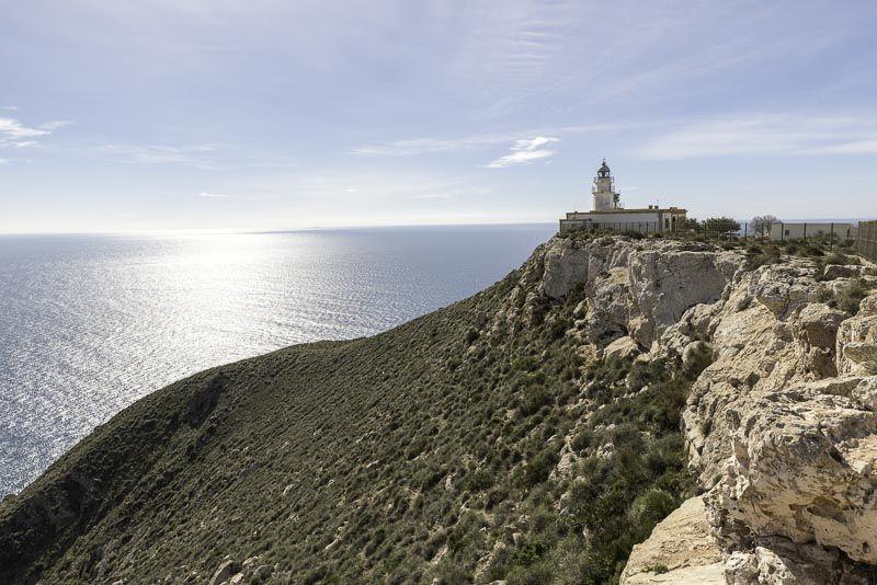 Faro de Mesa Roldan. Cabo de Gata