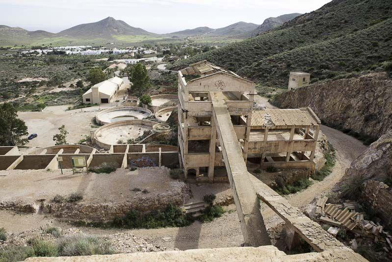 Mina de oro Rodalquilar. Cabo de Gata