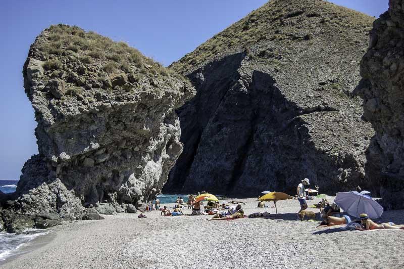 Playa de los muertos. Cabo de Gata