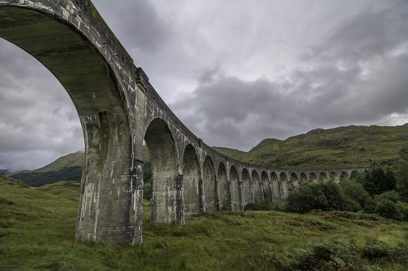 Viaducto Glenfinnan General Inverness