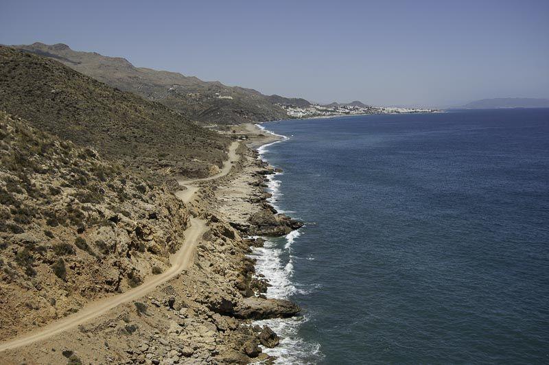 Vista Torre del Pilurico. Visita Cabo de Gata