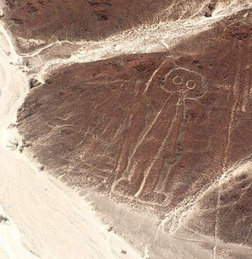 astronauta, sobrevolar lineas de nasca, nazca, Peru