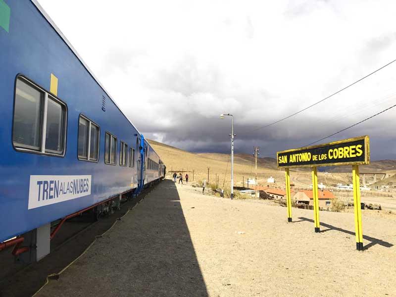 estacion de tren a las nubes, salta