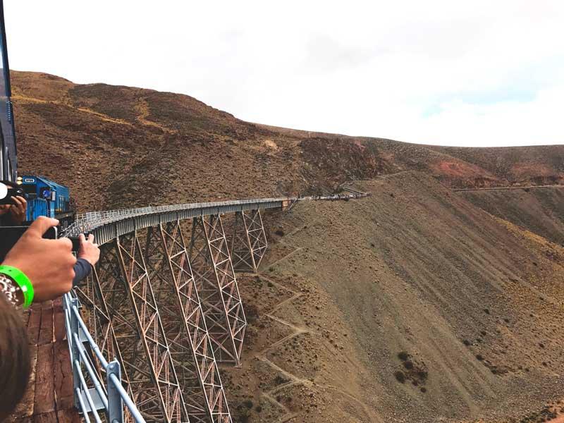 Polvorilla viaduct, Salta