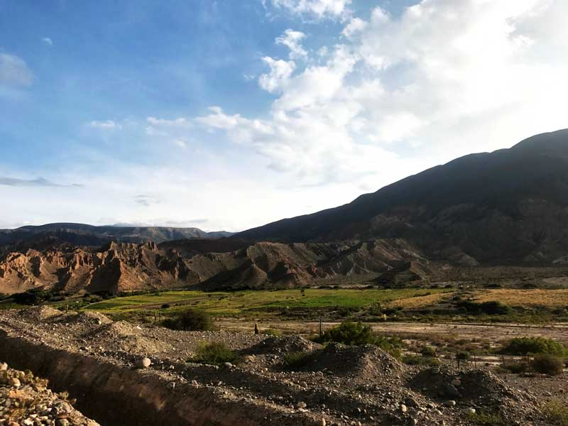 Views of Quebrada del Toro, train to the clouds, Salta