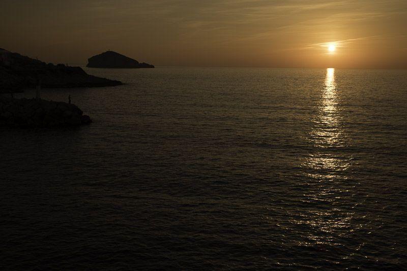 Marsella Puesta de Sol