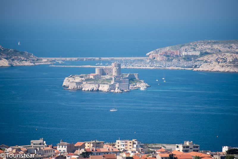 The Island of If and the Count of Monte Cristo, Marseille