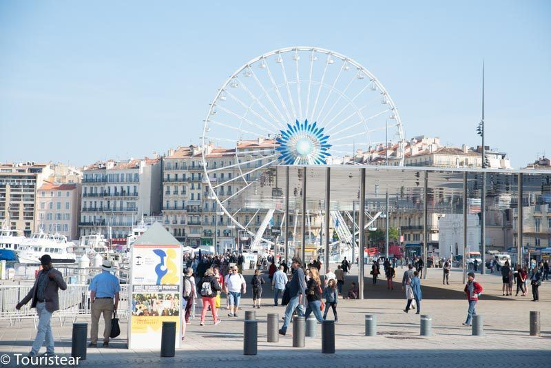 The Ferris Wheel of Marseille