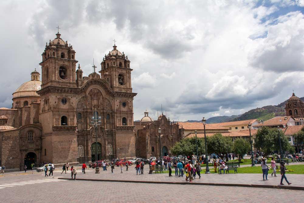 Plaza de armas de cusco, cuzco