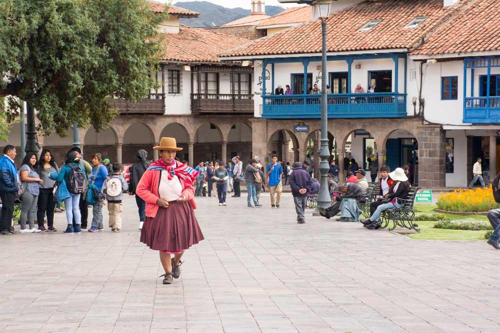 plaza de armas de cuzco cusco